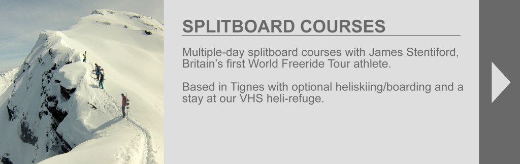 splitboard courses tab