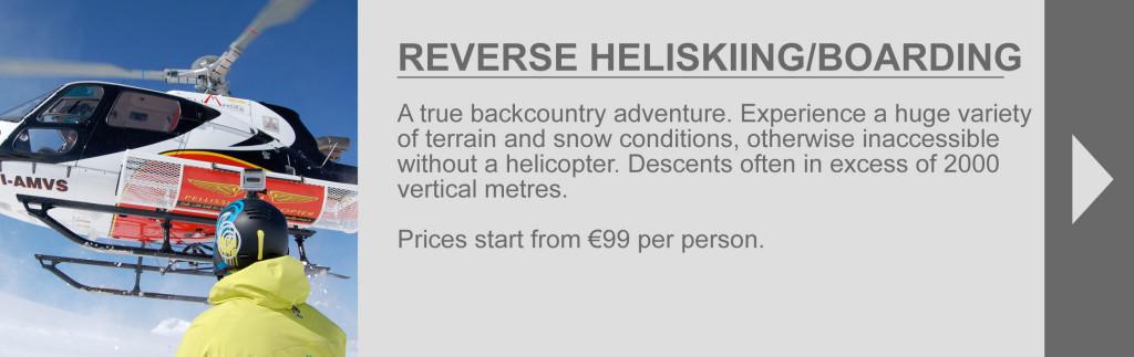 Reverse Heliskiing