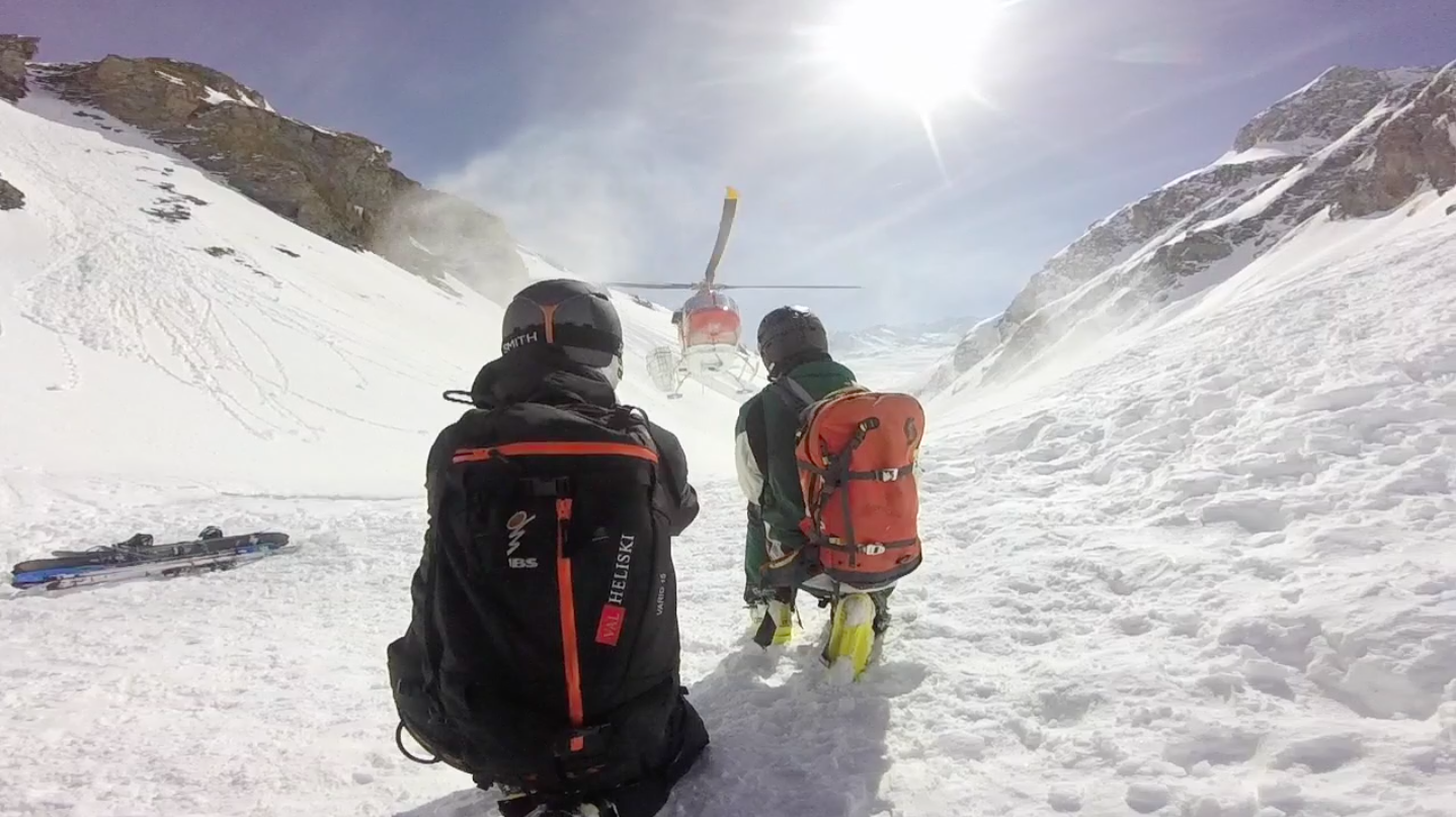 Great spring heli conditions in Italy 2