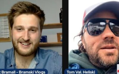 A Chat About Heliskiing With Tom Jeffery