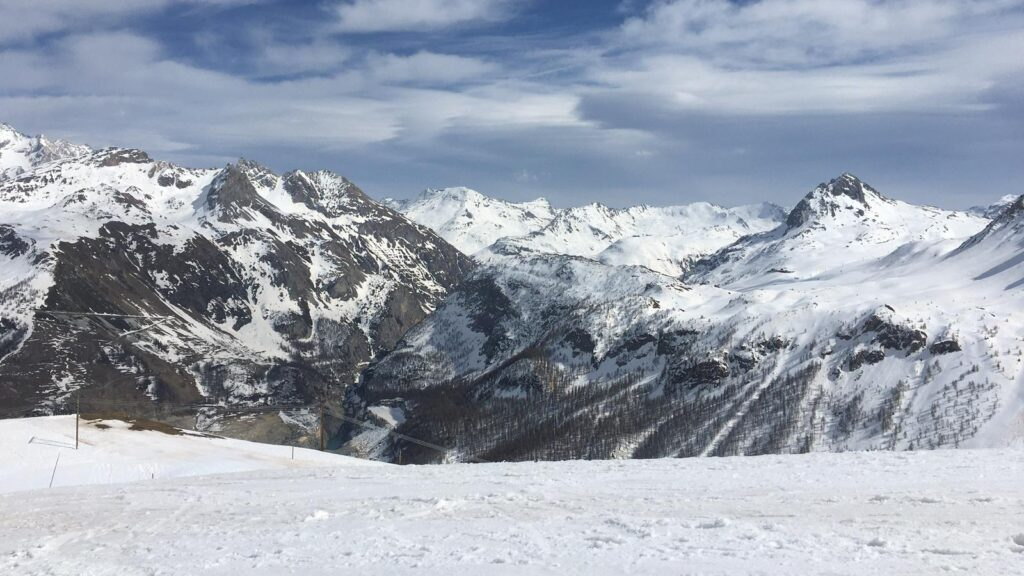 My First Experience Ski Touring 2