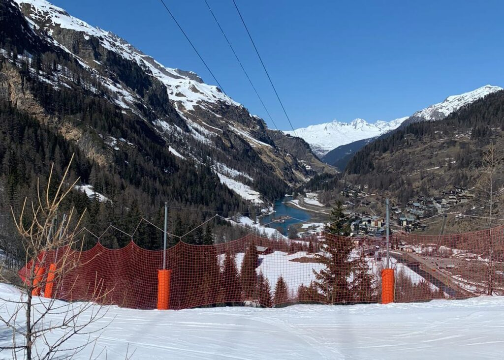 Tour solo Tignes 1800 and Brevieres