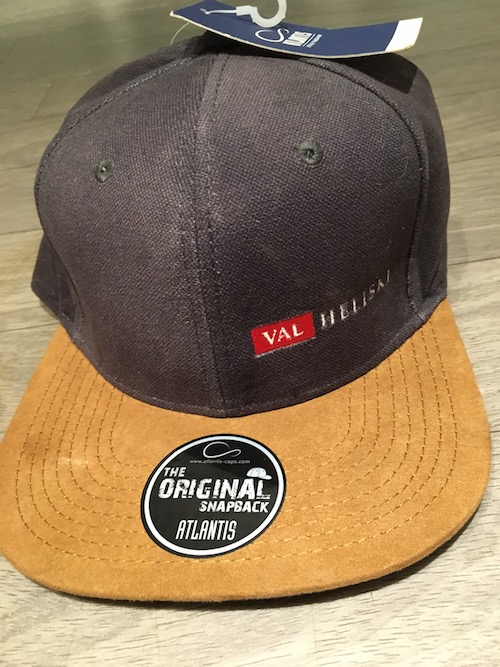 Val Heliski Brown Cap