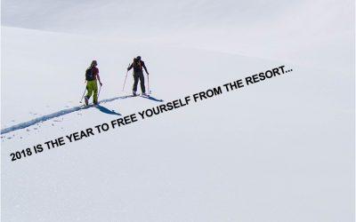 """Val Heliski Newsletter: """"Road Less traveled"""" 5-1-18"""